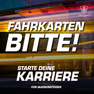Fahrkartenkontrolleur in Berlin werden, Bild der Stellenanzeige