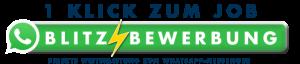 WhatApp Button für Sicherheitsdienst Job
