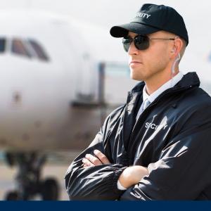 Job Sicherheitsmitarbeiter am Flughafen Titelbild